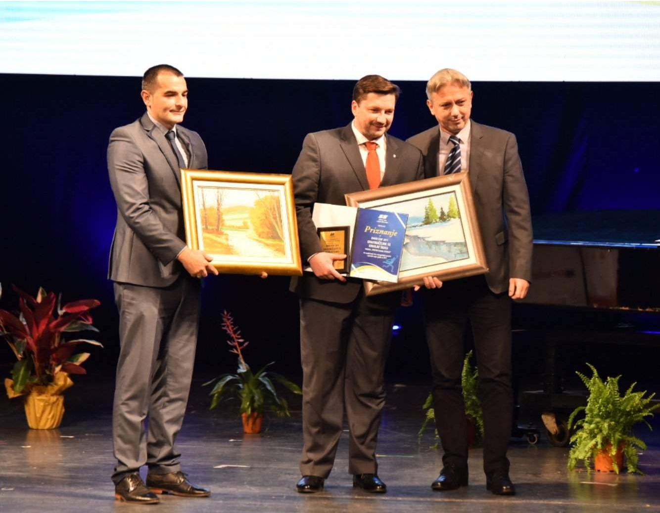Specijalno priznanje Sportski događaj decenije - EYOF dobili su Grad Sarajevo i Istočno Sarajevo