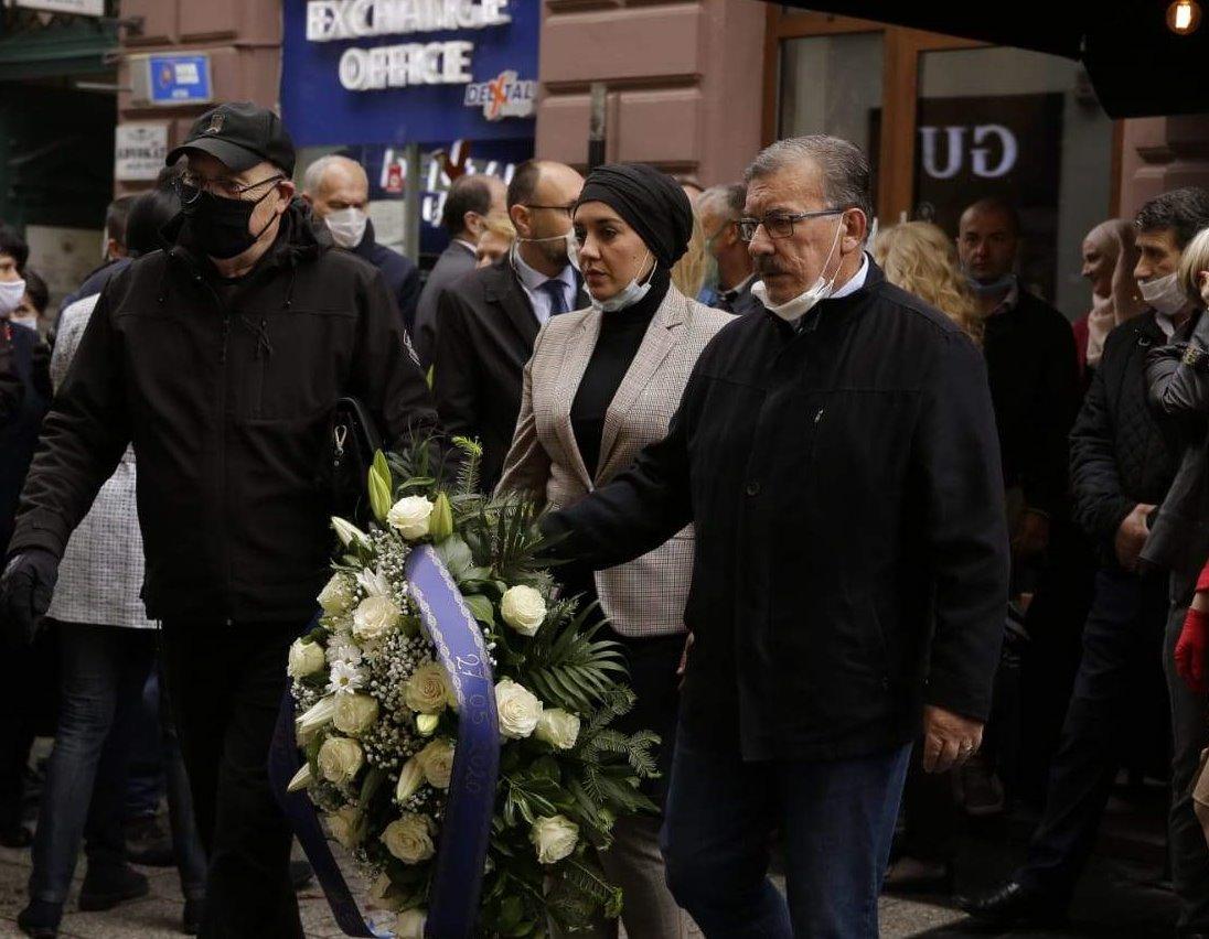 Delegacija Grada Sarajeva odala počast žrtvama masakra u Ferhadiji