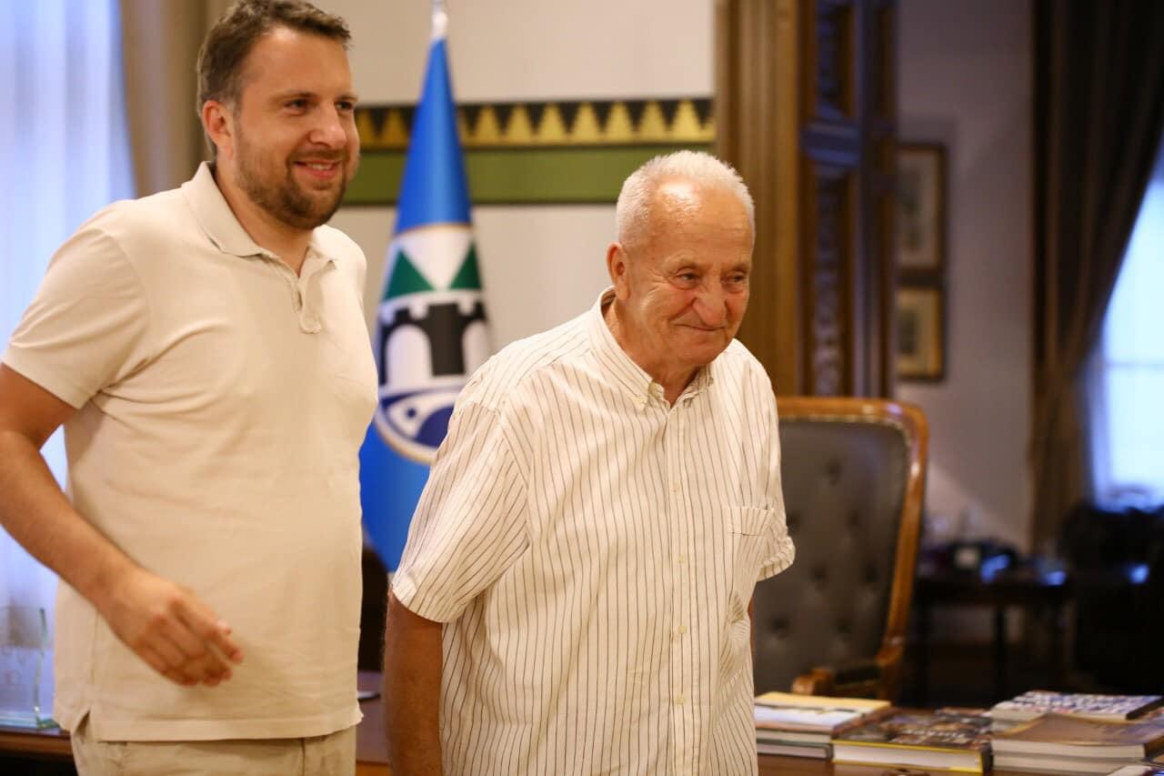 Susret gradonačelnika Skake i najstarijeg ovogodišnjeg hadžije