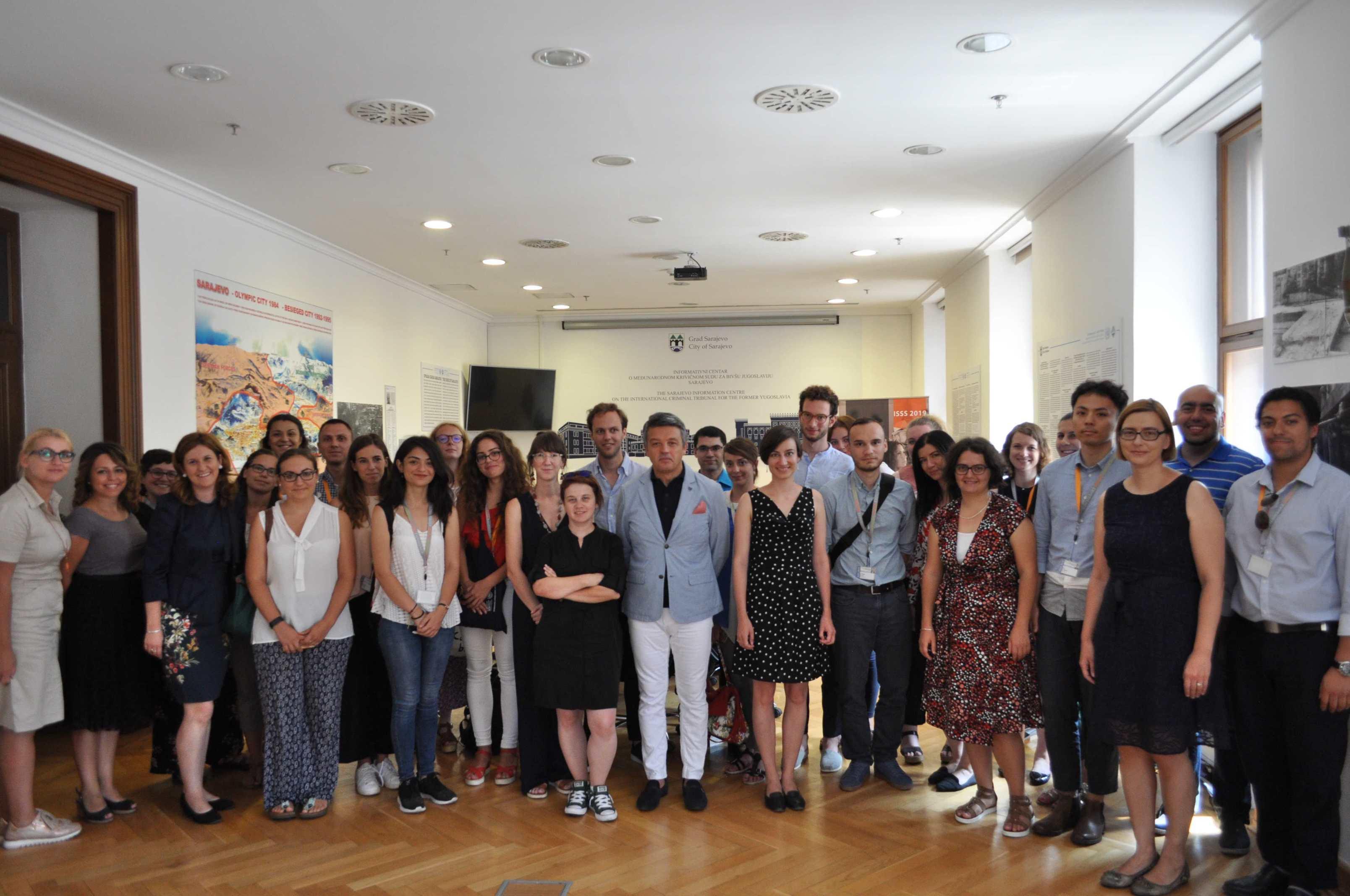 Informativni centar o MKSJ Sarajevo ugostio 13. po redu međunarodnu ljetnu školu prava