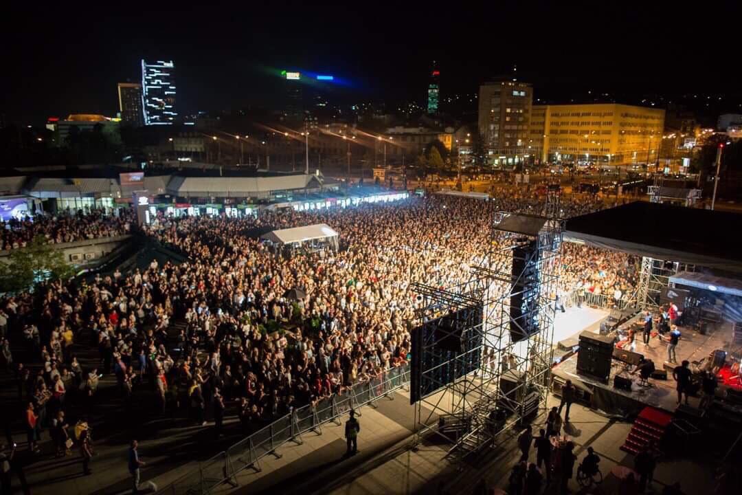 Održan festival Live Stage uz podršku Grada Sarajeva