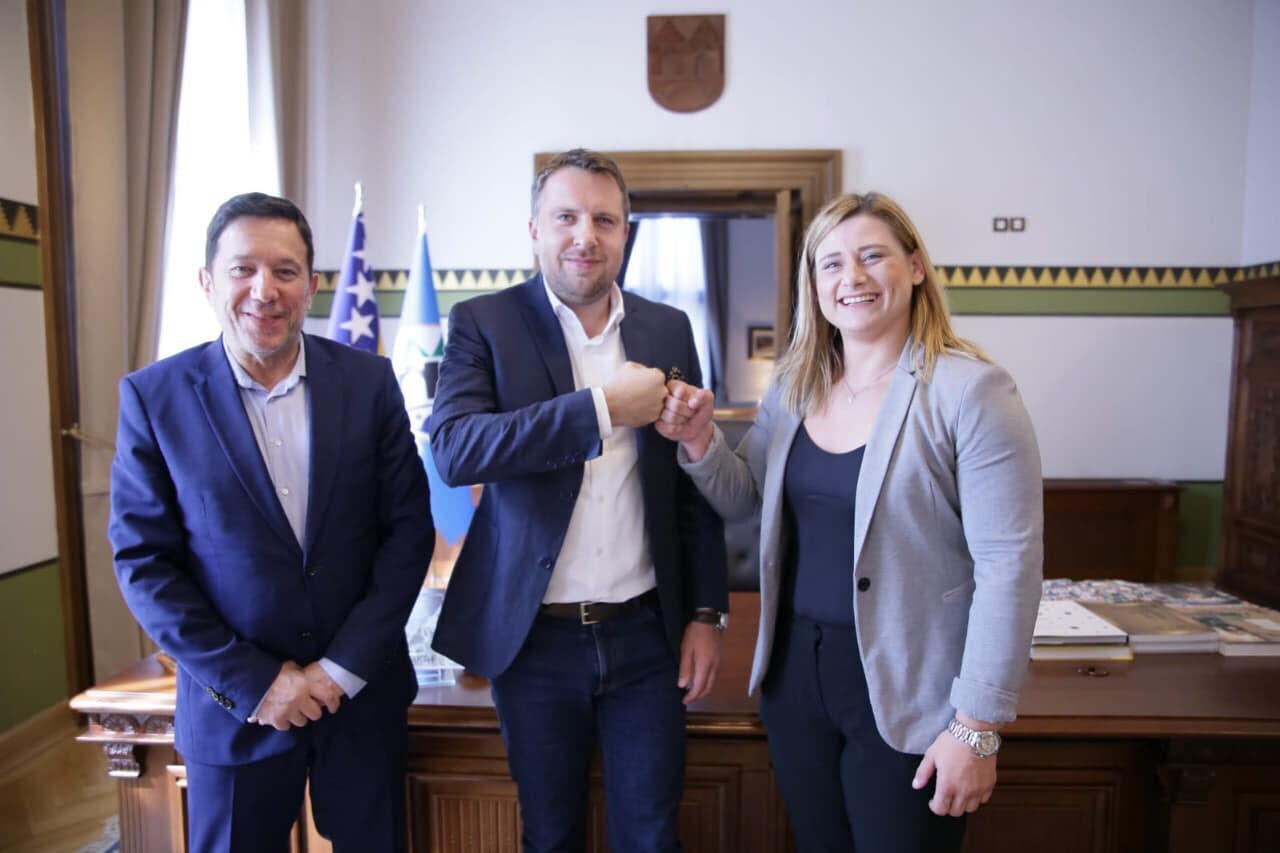 Gradonačelnik Skaka primio našu najbolju sportistkinju Larisu Cerić